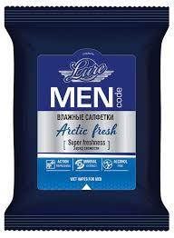 Купить <b>Влажные салфетки</b> для мужчин <b>Lure</b> Men Code Arctic ...