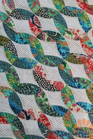 Metro Twist - Custom Machine Quilting by Natalia Bonner (Piece N ... & Machine quilting designs Adamdwight.com