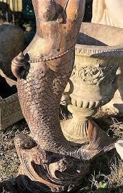 cast iron garden statue wells reclamation