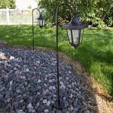 pure garden solar led black hanging