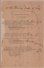 best walt whitman images walt  in summer of 1865 whitman wrote o captain my captain after the assassination of
