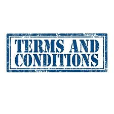 grunge rubber st with text terms and conditions vector ilration stock vector colourbox