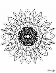 Awesome Elephant Mandala Coloring Pages Design Printable New Color