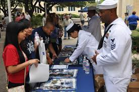 navy recruiting the future of our fleet navy live recruiters from navy recruiting district san antonio speak students during the 3rd annual george gervin