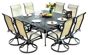 6 person round outdoor dining table full size of seats 8 sets for decorating fascinating impressive
