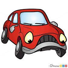 how to draw gloomy car cartoon cars
