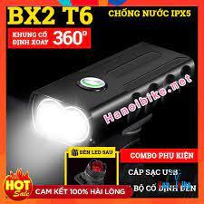 Đèn pha xe đạp siêu sáng BX2 Prolight 450 Lumen pin sạc USB tiện lợi Hanoi  bike shop