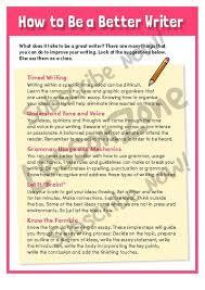 how to be a better essay writer com 102162e02 howtobeabetterwriter01 jpg