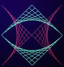 Geometric String Art Patterns