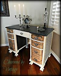 furniture restoration ideas. charmed by vintage desk furniture restoration ideas