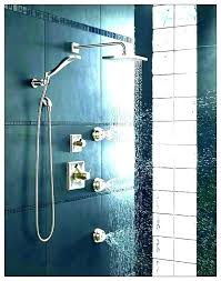 shower spray systems jet kits kit delta system where to bathrooms spr