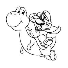 Super Mario Bros Kleurplaten Kleurplatenpaginanl Boordevol