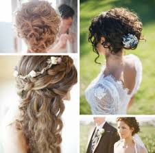 Wedding Hairstyles For Naturally Curly Hair Off The Page For Wedding Styles For Naturally Curly Hair