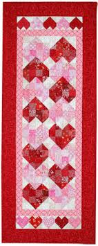 Free Quilt Pattern: Sweetheart Tablerunner | February/March 2014 ... & Free Quilt Pattern: Sweetheart Tablerunner Adamdwight.com