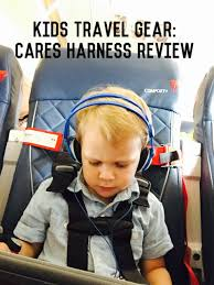 review of cares flight harness i typically travel with the car seats