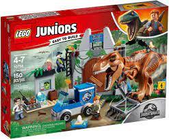 Đồ chơi lắp ráp LEGO Khủng Long Jurassic World 10758 - Khủng Long Bạo Chúa  T. rex Sổng Chuồng (LEGO Juniors 10758 T. rex Breakout) giá rẻ tại cửa hàng  LegoHouse.vn LEGO
