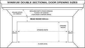 standard double sectional garage door sizes garage door sizes standard double sectional garage door sizes standard