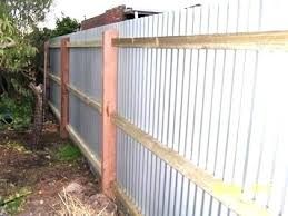 metal fence designs. Painted Fence Sheet Metal Designs Corrugated Steel Fences Made  With Tin Outdoors P