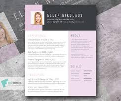 Free Creative Resume Templates Inspiration Say It With Style A Free Creative Resume Template Freesumes