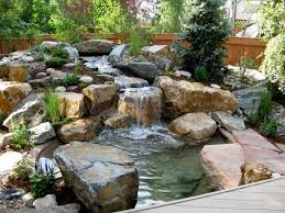 Small Picture Contemplative Japanese Waterfall Garden Gardenso