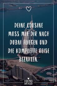 Deine Cousine Muss Mit Dir Nach Dubai Fliegen Und Die Komplettere