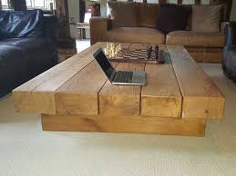 large oak beam coffee table uk made from
