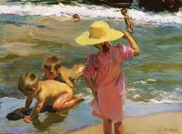 created in 1903 by valencian artist joaquín sorolla this impressionistic painting is on display at philadelphia museum of art