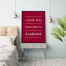 alabama state wall art  on alabama state wall art with alabama state wall art gift idea hopskipjumppaper