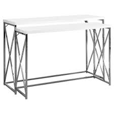 metal hall table. White Sofa Table. Amazon.com: Monarch Specialties 2-piece Metal Console Table Hall