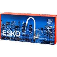 <b>Смеситель для кухни Esko</b> Coralli с гибким изливом, цвет хром ...