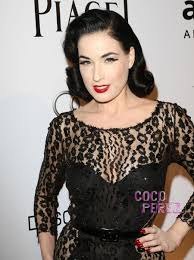 dita von teese wants her own makeup line