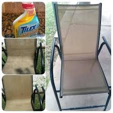 scrub free way to clean your moldy patio furniture just spray with mold and removing mildew