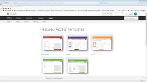 office microsoft templates ms access templates on office com developers hut