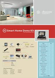 smart bus home automation technology catalogues and flyers smart home demo kit flyer