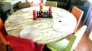 polished concrete dining table diy round build kitchen likable outdoor concrete dining table diy