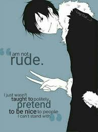 Quote 40」 Anime Amino Magnificent Anime With Rude Quote