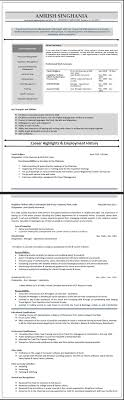 international resume samples