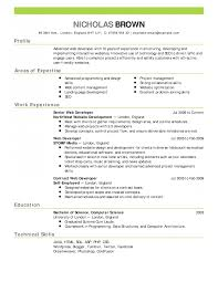 Resumes Sample Resume Free Template Cover Letter And Writing Tips