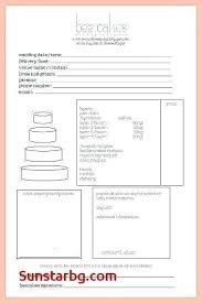 Best Of Free Cake Invoice Template Luxury Bakery Order Form Cupcake
