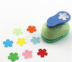 Paper Punches Flower Amazon Com Cady Crafts Punch 1 Inch Paper Punches Flower