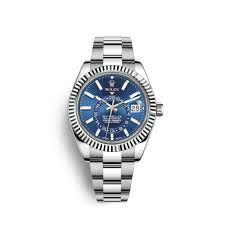 Rolex Crystal Chart Rolex Sky Dweller Watch White Rolesor Combination Of