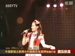 chinese pop singer caught lip syncing