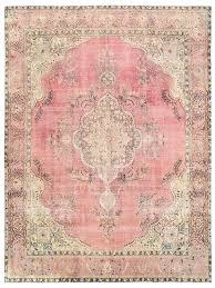 pink vintage rug vintage rug x ft x cm by pink vintage rug
