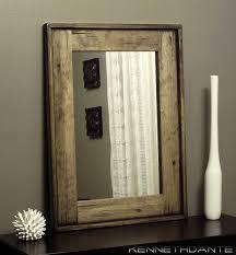 Rustic Bathroom Mirrors