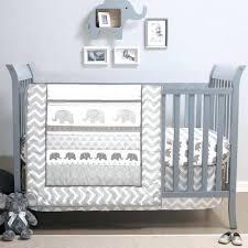 grey and white nursery bedding elephant walk 4 piece jungle geometric chevron grey baby crib bedding grey and white nursery bedding