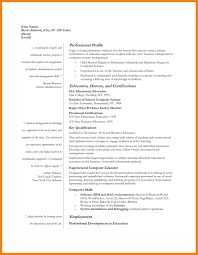 Free Teacher Resume Templates Resume Template And Professional