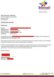 sle letter of invitation to nigeria
