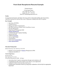Hair Salon Resume Examples Hair Salon Receptionist Resume Example