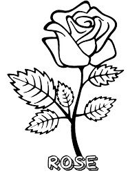 You've come to the right place! Printable Rose Coloring Page Sheet