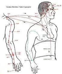 Triple Heater Meridian Lymph Massage Acupressure Hand